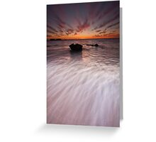 ∞ Even Flow ∞ Greeting Card