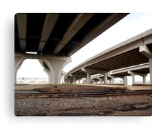 Urban Underside Canvas Print