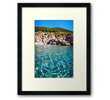 Cap Camarat, Ramatuelle near St-Tropez  Framed Print
