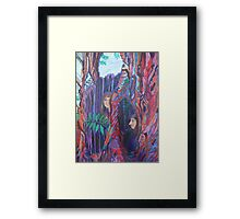 ley ash  Framed Print