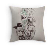 Drawing breaking bad Throw Pillow