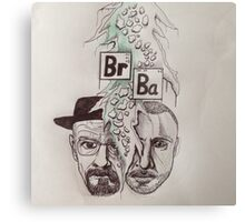 Drawing breaking bad Metal Print