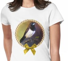 Javan munia realistic painting Womens Fitted T-Shirt