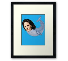 MONICA RE-WHALE-YES Framed Print