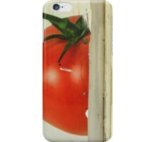 there's a tomato behind the door iPhone Case/Skin