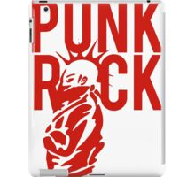 Punk Rock Wild Hair Mohawk Grunge iPad Case/Skin