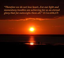 2 Corinthians 4:16,17 by hummingbirds