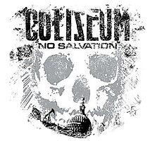 Coliseum No Salvation Photographic Print