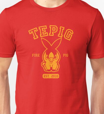 Tepig - College Style Unisex T-Shirt