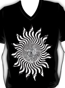 TRIPPY SWIRLS SUN T-Shirt