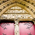 Red Doors at Notre Dame by keyconcept