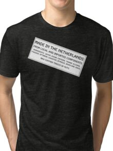 Traces Of Nuts - The Netherlands Tri-blend T-Shirt