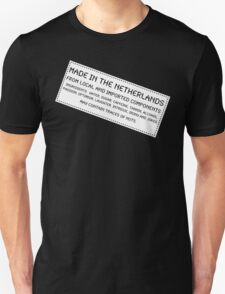 Traces Of Nuts - The Netherlands Unisex T-Shirt
