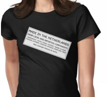 Traces Of Nuts - The Netherlands Womens Fitted T-Shirt