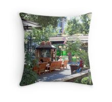 Remembrance of a joyful day Throw Pillow