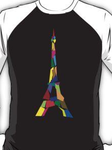 Eiffel tower abstract - Paris, France T-Shirt