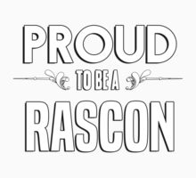 Proud to be a Rascon. Show your pride if your last name or surname is Rascon Kids Clothes