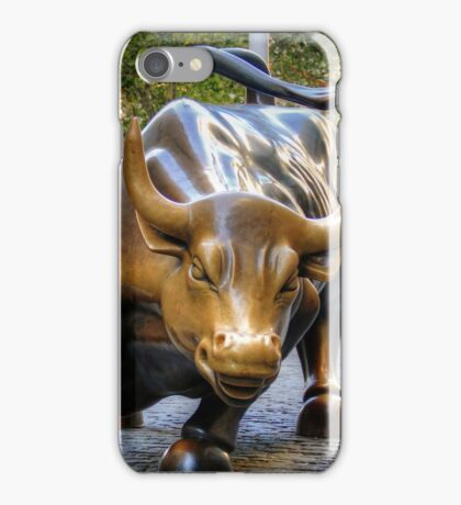The Charging Bull iPhone Case/Skin