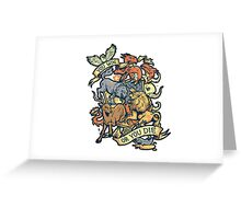 Game of Thrones You win or you die Greeting Card