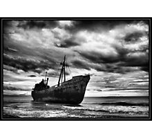 Endless Voyage - Shipwreck in Gytheio Photographic Print