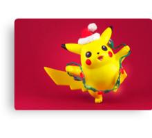 Pikachu's Christmas  Canvas Print