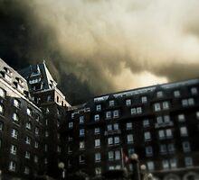 Banff Springs Hotel by Josie Duff