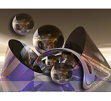 Space Ball Photographic Print