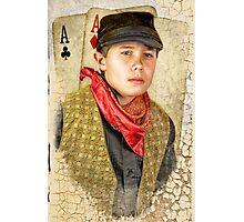 Three Aces Photographic Print