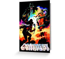 Conquest Greeting Card