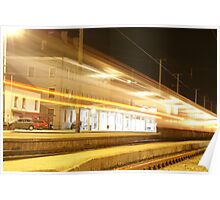 Incoming light train Poster