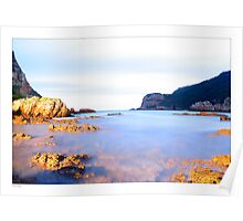 Knysna Heads early evening Poster