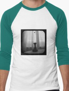 Vase Silhouette B&W TTV Men's Baseball ¾ T-Shirt
