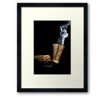 Fired.... Framed Print