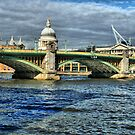 Southwark Bridge by Roxy J