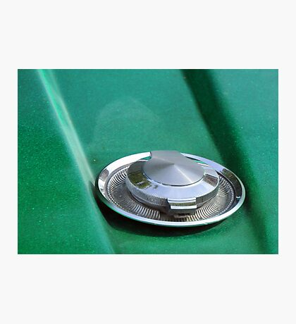 Green Gas Cap Photographic Print