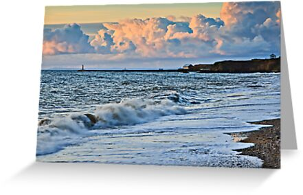 Buy e greeting cards uk - Sunrise, Seaham Harbour. UK Greeting Cards & Postcards