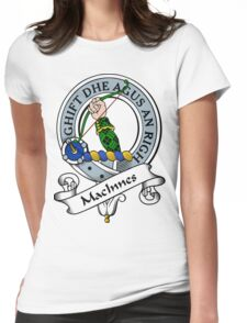 00100 Angus District Tartan Womens Fitted T-Shirt