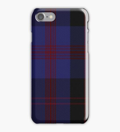 00100 Angus District Tartan iPhone Case/Skin
