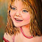 Portrait of Holley by Pamela Plante