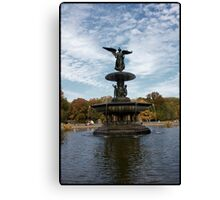 Angel of the Waters Fountain Canvas Print