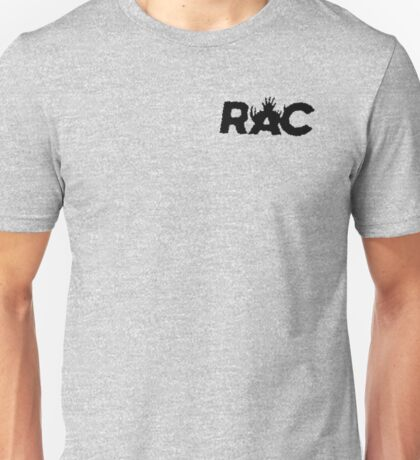 RAC - Recovery and Apprehension Coalition - Black Unisex T-Shirt
