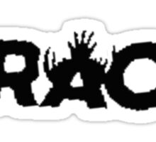 RAC - Recovery and Apprehension Coalition - Black Sticker
