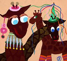 Carnevalgiraffe by Oehmig Birgit
