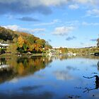 Cornwall: Autumn Reflections at Lerryn by Rob Parsons