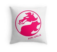 Mortal Kombat for Girls Throw Pillow