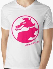 Mortal Kombat for Girls Mens V-Neck T-Shirt