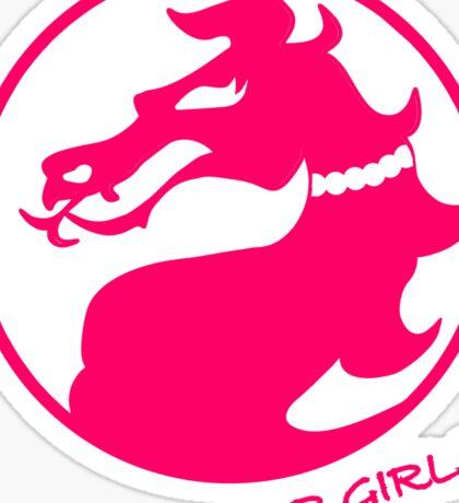Mortal Kombat for Girls Sticker
