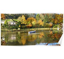 Cornwall: Autumn Colours on the River Lerryn Poster
