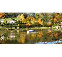 Cornwall: Autumn Colours on the River Lerryn Photographic Print