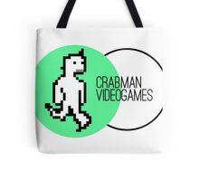 Crabman Videogames Logo Tote Bag